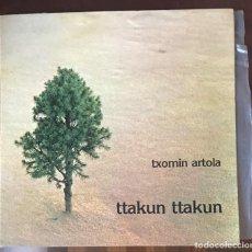 "Discos de vinilo: TXOMIN ARTOLA ""TTAKUN TTAKUN"" LP ORIGINAL 1979 XOXOA INCLUYE INSERT. Lote 140482614"
