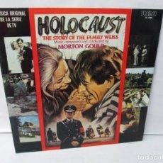 Discos de vinilo: HOLOCAUST. THE STORY OF THE FAMILY WEISS. MORTON GOULD. LP VINILO. RCA 1979. VER FOTOGRAFIAS. Lote 140489062