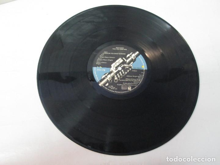 Discos de vinilo: PINK FLOYD. WISH YOU WERE HERE. LP VINILO. EMI ODEON. 1975. VER FOTOGRAFIAS ADJUNTAS - Foto 3 - 140491554