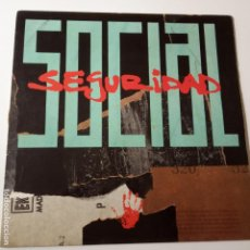 Discos de vinilo: SEGURIDAD SOCIAL- VINO TABACO Y CARAMELO - LP 1991- COMO NUEVO.. Lote 140492570
