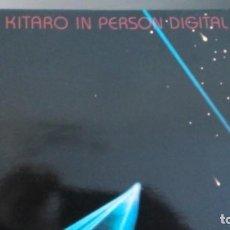 Discos de vinilo: KITARO IN PERSON DIGITAL LP. Lote 140495442