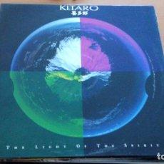 Discos de vinilo: KITARO THE LIGHT OF THE SPIRIT LP . Lote 140495866