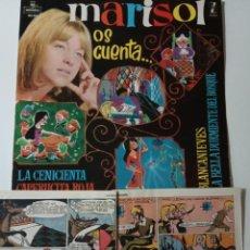 Discos de vinilo: MARISOL OS CUENTA- LP 1962 + CUENTOS ORIGINALES.. Lote 140496518