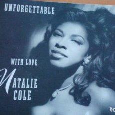 Discos de vinilo: NATALIE COLE UNFORGETTABLE 2XLPS INSERTOS. Lote 140496578