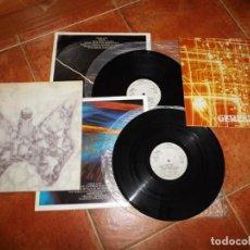 Discos de vinilo: CANARIOS CICLOS DOBLE LP VINILO 1974 GATEFOLD CON BOOKLET Y ENCARTES ROCK SINFONICO PROGRESIVO 2 LP. Lote 173934113