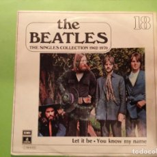 Dischi in vinile: THE BEATLES: THE SINGLES COLLECTION 1962/1970 LET IT BE / YOU KNOW MY NAME. Lote 140510386