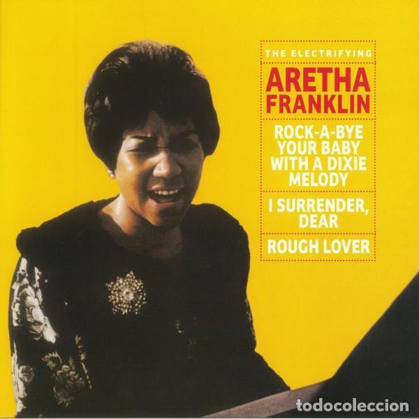 LP ARETHA FRANKLIN THE ELECTRIFYING ARETHA FRANKLIN VINILO SOUL (Música - Discos - LP Vinilo - Funk, Soul y Black Music)