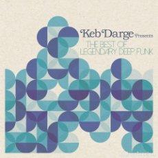 Discos de vinilo: 2LP KEB DARGE THE BEST OF LEGENDARY DEEP FUNK VINILO SOUL DISCO. Lote 140519834