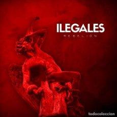 Discos de vinilo: LP+CD ILEGALES REBELION VINILO ROJO ASTURIAS ROCK. Lote 140520466