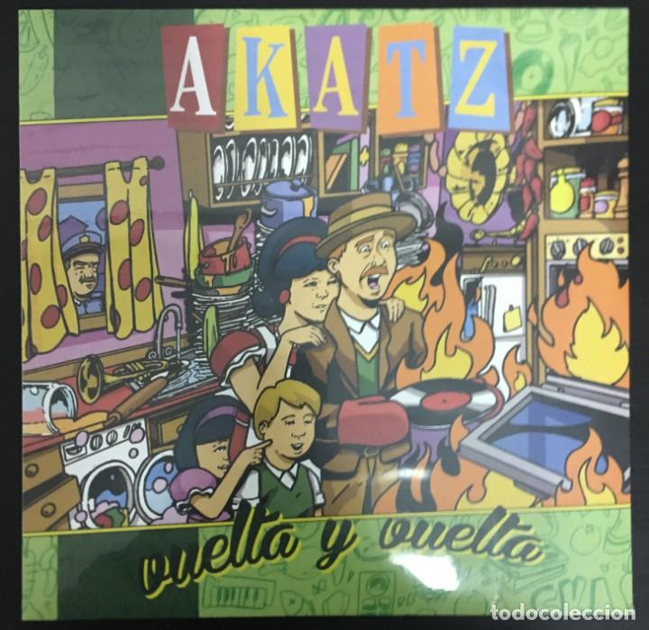 AKATZ VUELTA Y VUELTA LIQUIDATOR MUSIC  LQ078LP LP NUEVO, PRECINTADO (Música - Discos - LP Vinilo - Reggae - Ska)