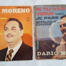 Discos de vinilo: EP / DARIO MORENO / LOTE DE 2 EPS. Lote 140544978