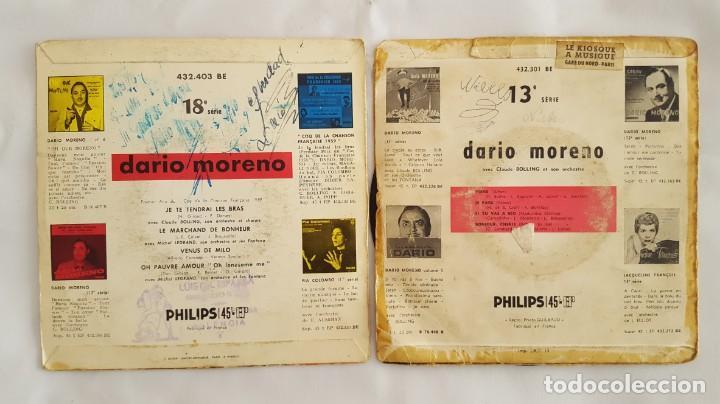 Discos de vinilo: EP / DARIO MORENO / LOTE DE 2 EPS - Foto 2 - 140544978