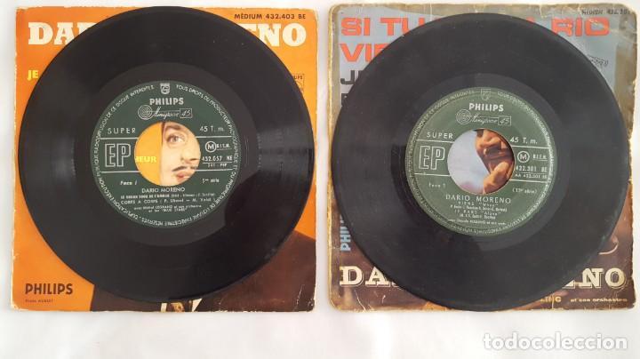 Discos de vinilo: EP / DARIO MORENO / LOTE DE 2 EPS - Foto 3 - 140544978