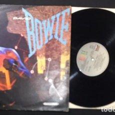 Discos de vinilo: DISCO LP VINILO DAVID BOWIE LET'S DANCE ( BAILEMOS ) EDICION ESPAÑOLA DE 1983. Lote 140559230