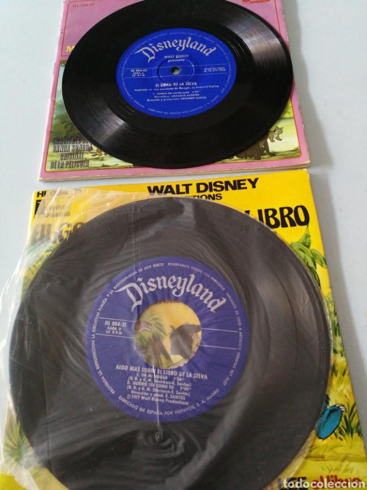 Discos de vinilo: Lote Disneyland Walt Disney Algo más sobre el libro de la selva - Foto 3 - 140563140