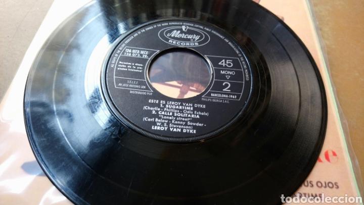 Discos de vinilo: Le Roy Van Dyke -Este Es. Ep spain 1962 - Foto 3 - 140565256