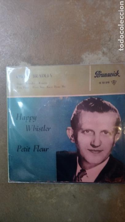 OWEN BRADLEY–HAPPY WHISTLER / PETIT FLEUR . SPAIN 1960. HISPAVOX. (Música - Discos de Vinilo - EPs - Rock & Roll)