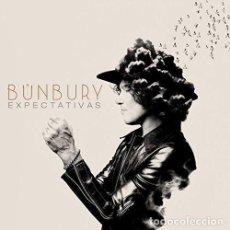 Discos de vinilo: LP ENRIQUE BUNBURY - EXPECTATIVAS / VINILO + CD / ED. OFICIAL 2017 / NUEVO. Lote 140572714