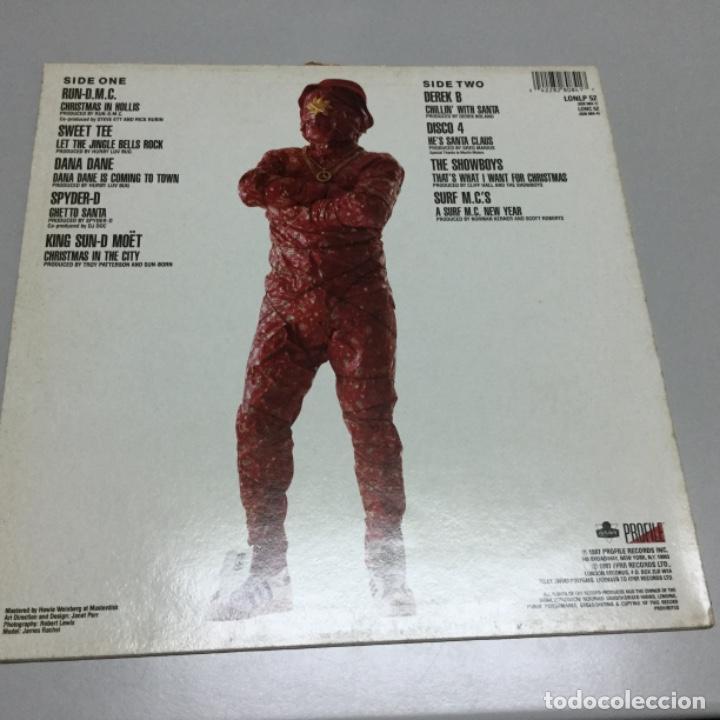 Discos de vinilo: Christmas rap . 174 - Foto 2 - 140572894