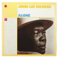 Discos de vinilo: JOHN LEE HOOKER - ALONE (2XLP, ALBUM). Lote 140575402