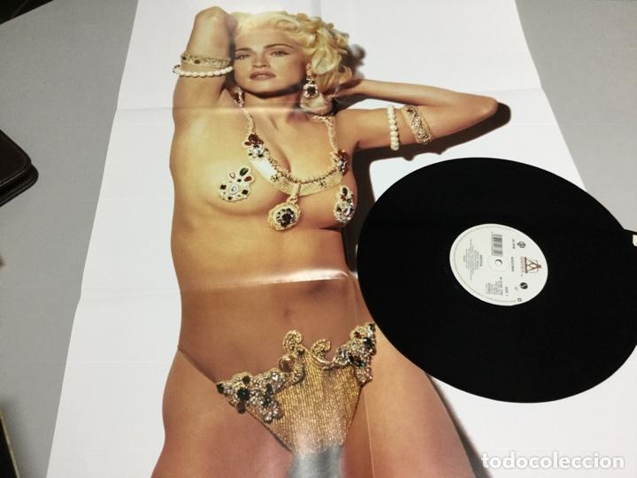 Discos de vinilo: Madonna- erotica- límited edition - free color poster - Foto 3 - 207049673