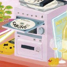 Discos de vinilo: 10 PULGADAS CARIÑO MOVIDAS INDIE ELEFANT RECORDS VINILO. Lote 140580510