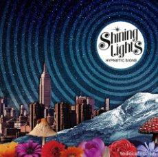 Discos de vinilo: SINGLE EP SHINING LIGHTS HYPNOTIC SIGNS VINILO ESPAÑA PSYCH ROCK GARAGE. Lote 140581770