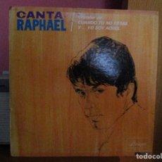 Discos de vinilo: RAPHAEL CANTA ( PUERTO RICO ) LLEVAN // INMESIDAD /7 LAZARILLO // A PESAR DE TODO // CADA CUAL //. Lote 140584618