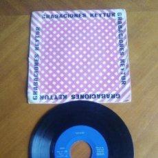 Discos de vinilo: EP. SUPER RARO. SANJO.GRABACIONES KEYTUR.LA PRADERA/EL OESTE/SIEMPRE STOP/MIS SUEÑOS. SPANISH SOUL. Lote 140587014