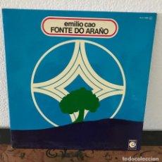 Discos de vinilo: EMILIO CAO FONTE DO ARAÑO 1977. Lote 140590030