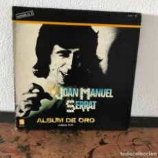 Discos de vinilo: JOAN MANUEL SERRAT - ÁLBUM DE ORO. Lote 140591090