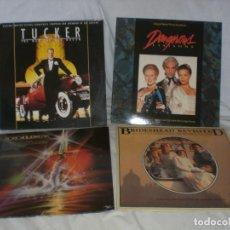 Discos de vinilo: LOTE 4 LP BSO BRIDESHEAD REVISED, EXCALIBUR, TUCKER, DANGEROUS LIAISONS, VER + INFORMACIÓN. Lote 140594874
