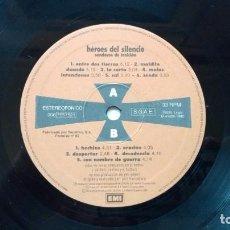 Discos de vinilo: DISCO DE HÉROES DEL SILENCIO - SENDEROS DE TRAICIÓN.. Lote 152488680