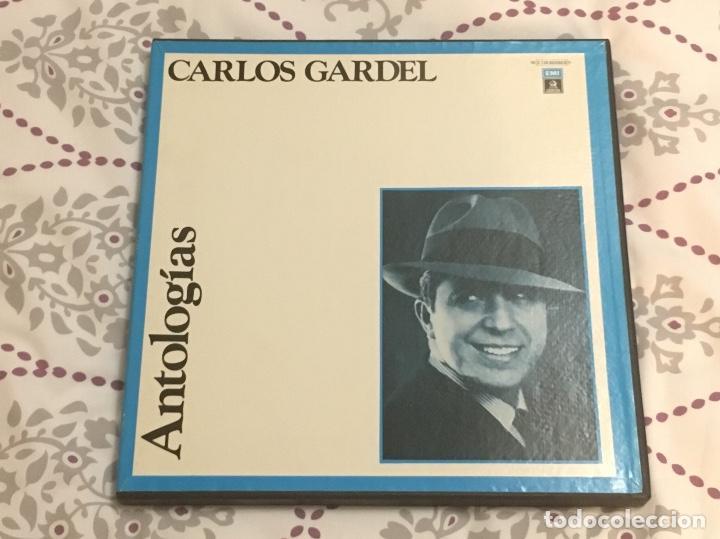 ANTOLOGIAS CARLOS GARDEL 3 VINILO (Música - Discos - Singles Vinilo - Grupos y Solistas de latinoamérica)