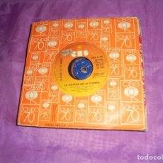 Discos de vinilo: LA GUERRA DE LOS MUNDOS. LA VISPERA DE LA GUERRA / LA MALEZA ROJA. CBS, 1978. Lote 140603814
