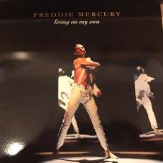 Discos de vinilo: SINGLE COLECCIONISTA FREDDIE MERCURY QUEEN. Lote 140604326