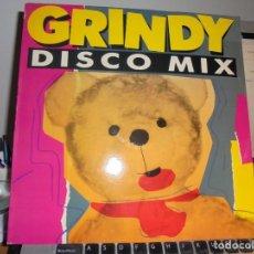 Discos de vinilo: RAR LP 33. GRINDY. DISCO MIX. ITALO DISCO. GRIND RECORDS. MADE IN SPAIN. Lote 140605722
