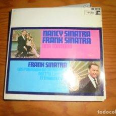 Discos de vinilo: FRANK SINATRA Y NANCY SINATRA. UNA TONTERIA + 3. EP. REPRISE, 1967. Lote 140611394