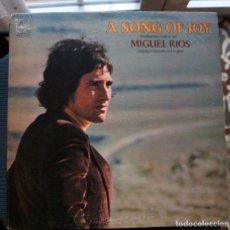 Discos de vinilo: MIGUEL RIOS - A SONG OF JOY - LP 1970. Lote 140611510