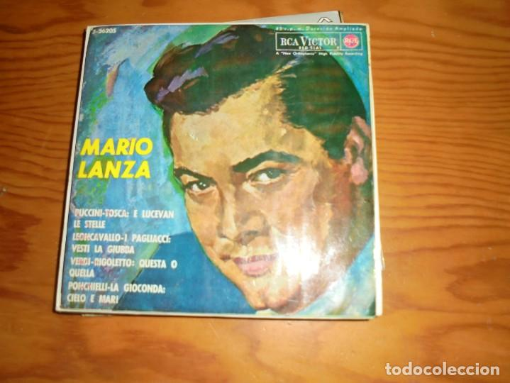 MARIO LANZA. PUCCINI, VERDI, LEONCAVALLO...EP. RCA VICTOR, 1964 (Música - Discos de Vinilo - EPs - Clásica, Ópera, Zarzuela y Marchas)