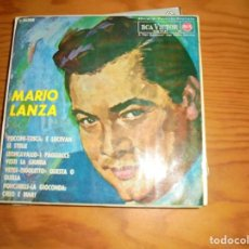 Discos de vinilo: MARIO LANZA. PUCCINI, VERDI, LEONCAVALLO...EP. RCA VICTOR, 1964. Lote 140613526