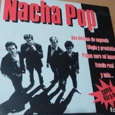 Discos de vinilo: NACHA POP UNA DECIMA DE SEGUNDO ... MAXI VINILO SUPER DRO 1984. Lote 140617178