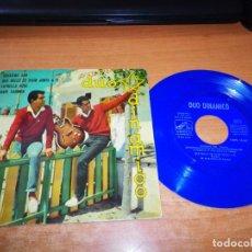 Discos de vinilo: DUO DINAMICO QUISIERA SER FESTIVAL BENIDORM 1961 EP VINILO 1961 LA VOZ DE SU AMO VINILO COLOR AZUL. Lote 140620942