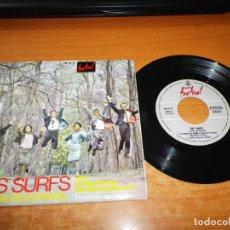 Discos de vinilo: LES SURFS EL JUEGO DEL AMOR CANTAN EN ESPAÑOL EP VINILO DEL AÑO 1965 HISPAVOX 4 TEMAS. Lote 140621814
