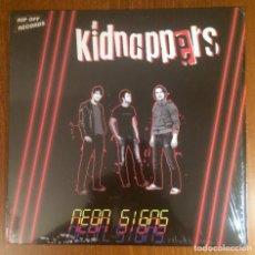 Discos de vinilo: KIDNAPPERS - NEON SIGNS LP VINILO RIP OFF RECORDS PUNK ROCK. Lote 140621934