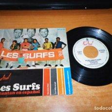 Discos de vinilo: LES SURFS EN UNA FLOR CANTAN EN ESPAÑOL EP VINILO DEL AÑO 1966 HISPAVOX 4 TEMAS. Lote 140622502