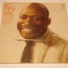 Discos de vinilo: COUNT BASIE ( SIXTEEN MEN SWINGING ) 1977-GERMANY DOBLE LP33 VERVE RECORDS. Lote 140627734