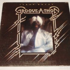 Discos de vinilo: ISAAC HAYES ( GROOVE-A-THON ) USA - 1976 LP33 ABC RECORDS. Lote 989720