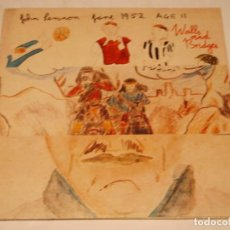 Discos de vinilo: JOHN LENNON ( WALLS AND BRIDGES ) 'CON LIBRILLO DE CANCIONES' 1974-USA LP33 EMI. Lote 140636098