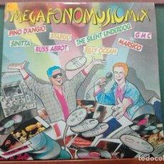 Discos de vinilo: MEGAFONOMUSICMIX. ESPAÑA 1987.ESTADO EXCELENTE.DOBLE LP. Lote 140646374